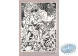 Bookplate Offset, Marlysa : Marlysa et Tatrin n&b