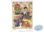 Bookplate Offset, Rubine : Rubine & Jimmy Tousseul