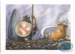 Bookplate Offset, Astérix : Dumoulin, Tribute to Astérix