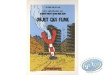 Bookplate Offset, Tintin : Objet qui Fume