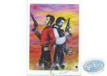 Bookplate Offset, Fa-Seiryu : Duel