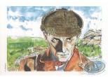 Bookplate Offset, Sherlock Holmes : Marniquet, Sherlock Holmes