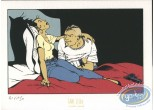 Bookplate Serigraph, Enragés (Les) : On the bed
