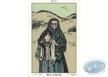 Bookplate Serigraph, Coeur en Islande (Le) : Moses & Martha