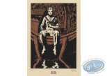 Bookplate Serigraph, Révoltés (Les) : Woman on Boat