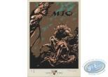 Bookplate Serigraph, Semio : Mouclier, Semio