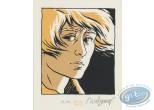 Bookplate Serigraph, Petit Verglas : Face