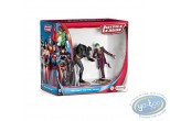 PVC Statuette, Superman : Scenery pack Batman Vs Joker