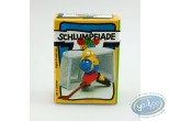 Plastic Figurine, Smurfs (The) : Smurf guard of hockey + box