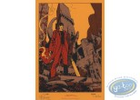 Bookplate Serigraph, Mayam : Warrior
