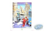 Offset Print, Spirou and Fantasio : The Robot (signed)