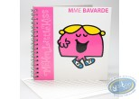 Notebook,  Mr. Men and Little Miss : Spirals Carre book, Mrs. Chatterbox : Pink
