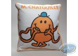 Deco,  Mr. Men and Little Miss : Pillow, Mister Chatouille : White