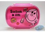 Tableware,  Mr. Men and Little Miss : Box lunch Miss Sunshine: Pink