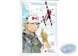 Aquarelle, Dan Cooper : Aerobatic Competition