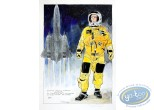 Aquarelle, Dan Cooper : Spacesuit