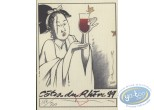Wine Label, Kogaratsu : Côtes du Rhone 99