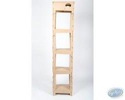 Basic Bookcase 1 column ' Skive ' - kit 2