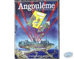 Druillet : Angouleme la ville qui vit en ses images