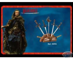 mini swords bronze version display