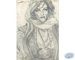 Woman Portrait (sketch)