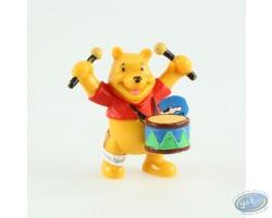 Winnie playing the drum, Disney