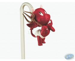 3D bookmark, Hot Stuff with his fork