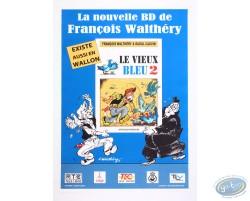 Advertising poster 'La Nouvelle BD de Walthéry et Cauvin' of Walthéry