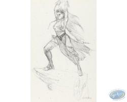 Murena sketch : Woman Warrior