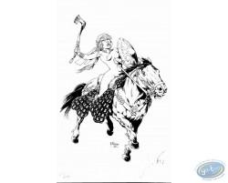 Ambre on Horse
