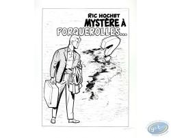 Mystery in Porquerolles (b&w)