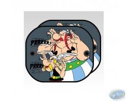 2 sides sun visor, Uderzo - Asterix : Asterix and Obelix : 'Prrrrr'