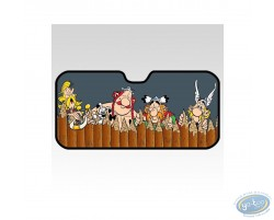 Front sun visor, Uderzo - Asterix : 'Behind the wall'