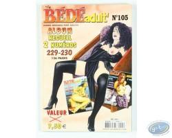 Bédé Adult N°105, 2 albums : n°229 et n° 230