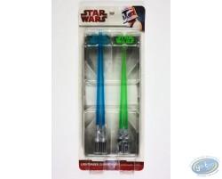 Luke & Yoda lightsaber chopsticks