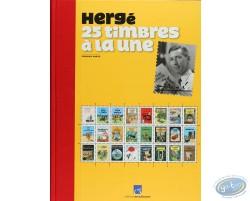 Herge 25 timbres a la une