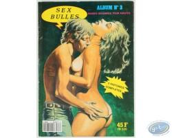 Sexbulles N°3, 2 stories, les nuits blanches de Stella - les 11001 vierges