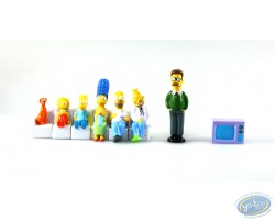 Serie of 8 characters Simpson, Panini