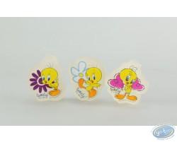 Pack of 3 gum, Titi (transparent)