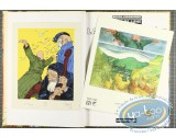 Listed European Comic Books, Face de Lune :  La Pierre de Faîte (+ bookplate)