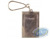 Metal Keyring, Mickey Mouse : Mickey Looking away ( bas relief), Disney