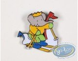 Pin's, Babar : Babar in the winter sports, serial of 14 pines