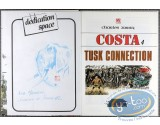 Listed European Comic Books, Costa : Tusk Connection (dedication)