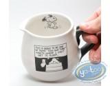 Tableware, Snoopy : Cream bowl Peanuts blak & white