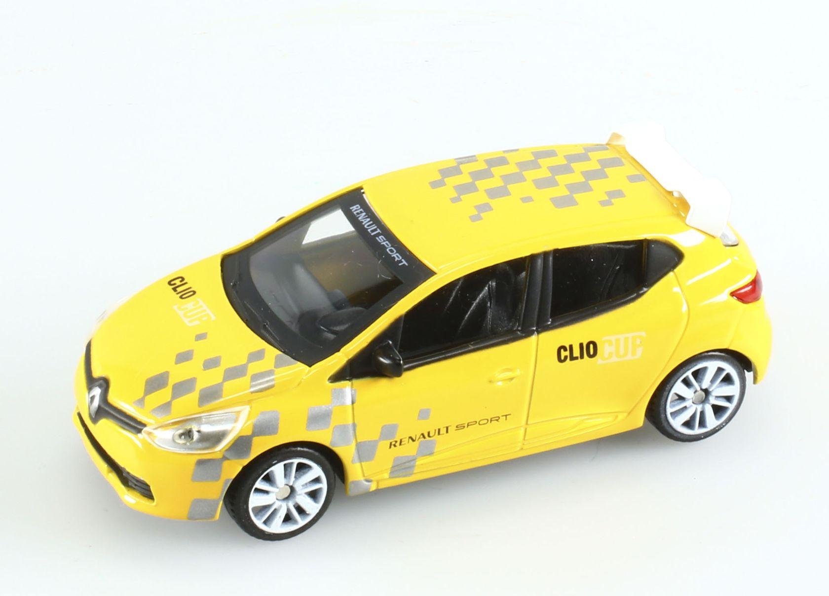 voiture de rallye miniature renault clio iv rs cup 1 43 ebay. Black Bedroom Furniture Sets. Home Design Ideas