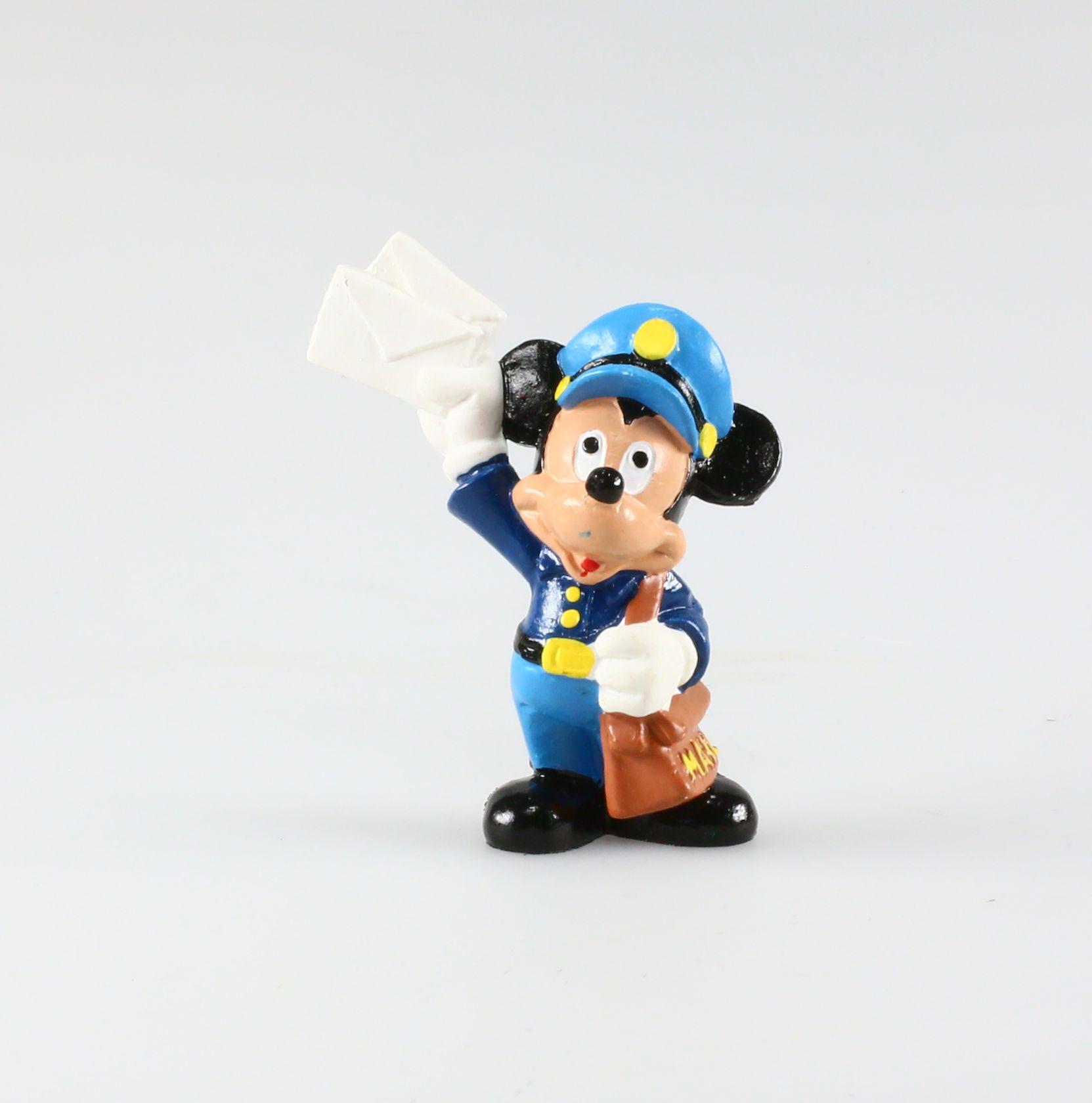 Disney Bully Figurine plastique Mickey Mouse Picsou en costume bleu