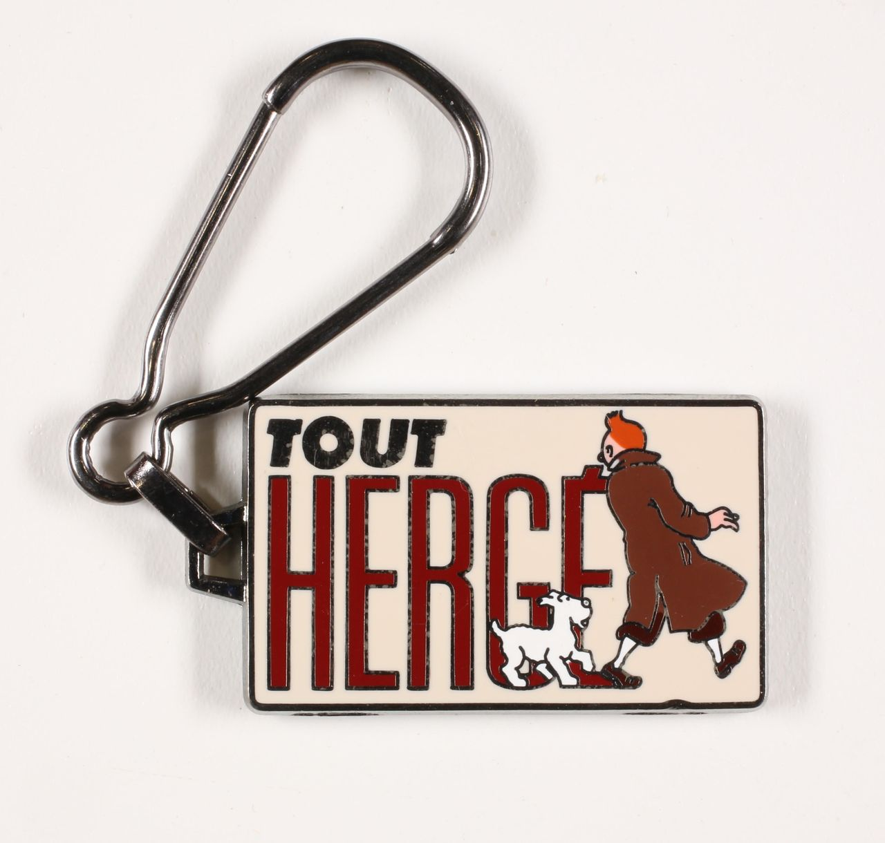 Porte-clé Tintin Tintin et Milou Tout Hergé Corner
