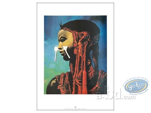 Affiche Offset, L'esclave de Salammbô