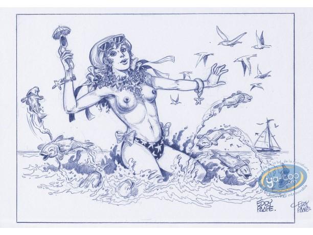 Affiche Offset, Luc Orient : Laura mer