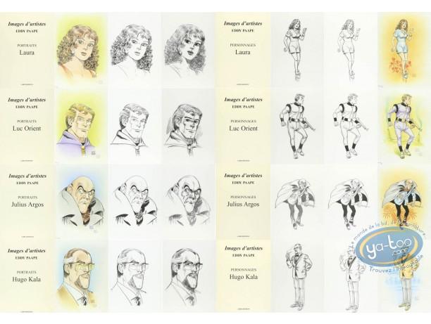Portfolio, Luc Orient : Personnages et Portraits